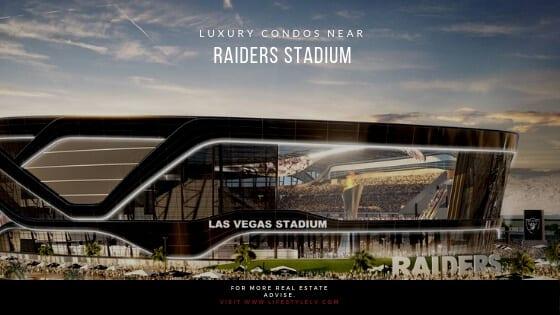 3 Las Vegas Luxury Condos Near Raiders Stadium